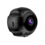 X7 Mini HD 1080P 4K Wearable Outdoor Sports Camera DV WiFi Wireless DVR Night Vision IP Camera - Black