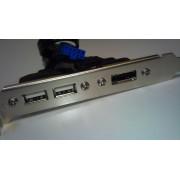 ASUS Dual USB + eSATA Port Bracket (USB + eSATA portovi na zadnjoj strani kućišta)