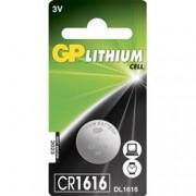 Gp Batteries Blister 1 Batteria Litio a Bottone CR1616