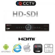 HD SDI DVR 8 kanálový FULL HD, HDMI, VGA + 2TB HDD