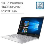 HP ENVY - 13-ad173cl - Intel Core i7(8th Gen) 16gb Ram 512ssd 13.3 4k Touchscreen 2gb Nvida Mx150 Win10 Ultrabook