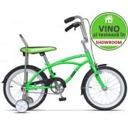 "Bicicleta Pegas Mezin 2017 Baiat, Cadru 9"", Roti 16"" (Verde)"