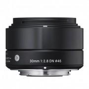 Sigma 30mm F2.8 DN Art Obiectiv pentru MFT Negru
