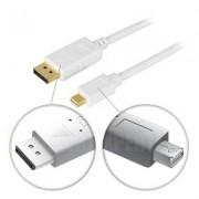 . DisplayPort till Mini DisplayPort monitorkabel, 20-pin ha-ha, 1m