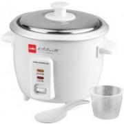 Cello rice cooker Electric Rice Cooker(0.6 L, White)