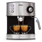 Ufesa CE7240 Cafeteira Expresso 20 Bares 1.6L 850W Preto/Inox