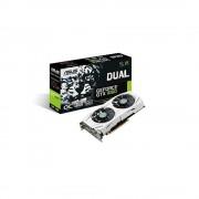 Placa video Asus NVIDIA GeForce GTX 1060, DUAL-GTX1060-O3G, PCI Express 3.0, GDDR5 3GB, 192bit, OC Mode - GPU Boost Clock : 1809 MHz , GPU Base Clock