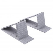 NILLKIN Ascent Mini Stand Foldable Magnetic Absorption Holder for Notebook MacBook - Grey