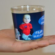 Lumanari personalizate, aroma vanilie