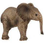 Schleich North America African Elephant Calf Toy Figure
