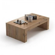 Mobili Fiver Mesa de centro, modelo First H30, color Madera Rustica