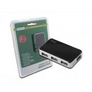 MINI HUB USB 2.0 4 PUERTOS CON ALIMENTACION DIGITUS