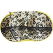 ShopyBucket Women's Underwear Case Travel Portable Storage Bag Box Protect Bra Panty Lingerie Organizer(random colour will be shipped)(Gold, Black)