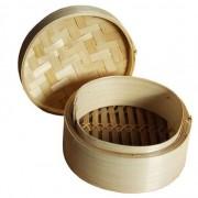 Bambusz pároló tetővel, 16 cm-es