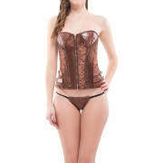 INTIMAX - CORSET DULCIE MARRON M