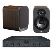 Pachete PROMO STEREO - Q Acoustics - 3010 + Cambridge Audio Topaz AM5 Matte Graphite