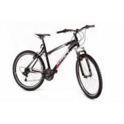 Bicicleta MTB X-Fact Active 26 pentru adulti negru cadru 19