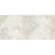 Tapet superlavabil cu frunze de palmier (Culoare tapet: model 5559: gri foarte deschis, crem, roz prafuit, accente aurii)