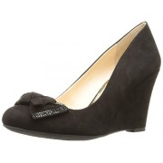 Jessica Simpson Women's Cariah Wedge Pump, Black, 6. 5 M US