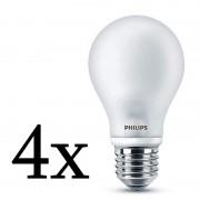 Philips Pack 4x Lightning Lâmpada LED 7W E27 Branco Neutro