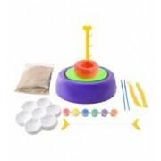 Set creativ de olarit Rooala Olarului pentru copii + vopsele pensule lut si alte accesorii