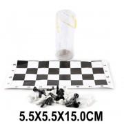 Игра настольная Шахматы в тубе, поле 29х29 см