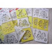 Set 3 sabloane de Pasti - 3 D - 707151
