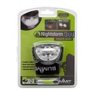 Summit Nightstorm 300 hoofdlamp zwart 7 x 4 cm