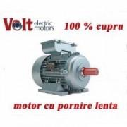 Motor electric monofazat 1.1KW Volt Motors pornire lenta Turatii 1500RPM cupru
