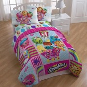 Shopkins Patchwork Reversible Comforter - Twin Size