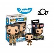 Set 2 Llavero Y Pop Logan Wolverine Funko Pop X Men Keychain
