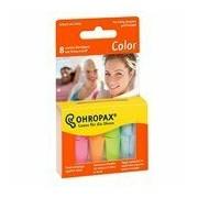 Tampões de espuma color 8 unidades - Ohropax