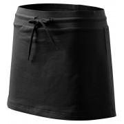 ADLER Sukně se všitými kraťasy 60401 černá S
