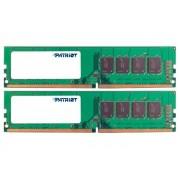 Модуль памяти Patriot Memory DDR4 DIMM 2666MHz PC4-21300 CL19 - 8Gb KIT (2x4Gb) PSD48G2666K