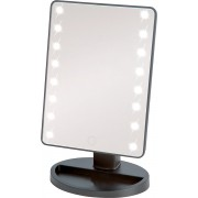 Make-up Spiegel met Verlichting - LED spiegel - 16x LED - Vergrotende werking - Verstelbaar - Touch - Grijs