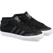 ADIDAS ORIGINALS MATCHCOURT MID Sneakers For Men(Black)
