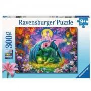 Пъзел Ravensburger 300 части XXL - Мистичен дракон, 7013258