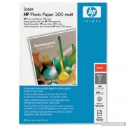 PAPER, HP A4 size, Laser Photo Paper Matt, 100 sheets (Q6550A)