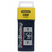 Stanley krammen 12 mm type 7 1000 stuks