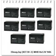 MHB 8x12V 9Ah (KIT30-2)