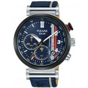 Ceas barbatesc Pulsar PZ5079X1 Solar M-Sport Limited Edition 1000 Pcs. Cronograf 44mm 10ATM