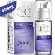180 Cosmetics Hyaluronic Acid Serum for Face Face Lift Skin Serum for Face and Eyes Pure Hyaluronic Acid For Immediate Results Hydrating Anti Aging Anti Wrinkle
