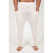 Pistol Pete Airplay Drop Crotch Pants Ivory PT211-920