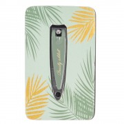Maisons du Monde Green Metal Nail Clippers with File