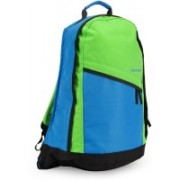Fastrack 15 inch Laptop Backpack(Green, Blue)