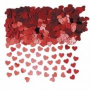 Haza Rode valentijn hartjes confetti 2 zakjes