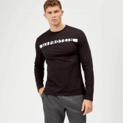 Myprotein The Original Long Sleeve T-Shirt - Black - XL - Black