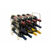 Assorted Sorbus Wine Racks (11 styles) Multi-color Gold 3 Tier Rack: 12 Bottles