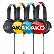 Casti portabile cu fir AKG Y50 (Negru)