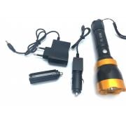 Lanterna Metalica MRG PL-939A Reincarcabila cu Acumulator Flash